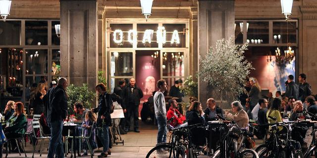 Dining out in Barcelona