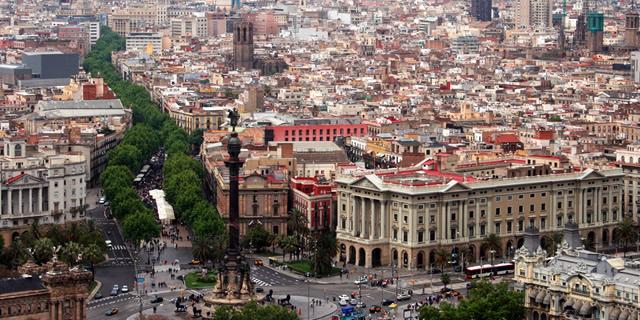 The Ramblas Barcelona