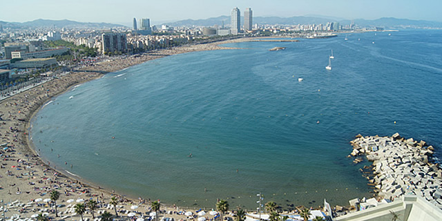 San Sebastian gay beach barcelona